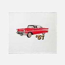 '57 Chevy - Hot Wheels Throw Blanket
