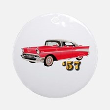 '57 Chevy - Hot Wheels Ornament (Round)