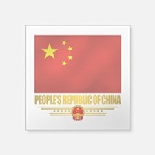 Peoples Republic of China Flag Sticker