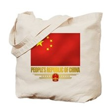 Peoples Republic of China Flag Tote Bag