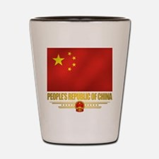 Peoples Republic of China Flag Shot Glass