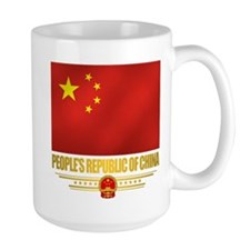 Peoples Republic Of China Flag Mugs