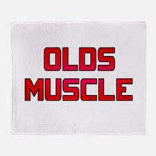 Olds Muscle! Throw Blanket
