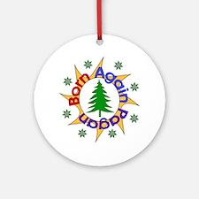 Born Again Pagan Ornament (Round)