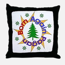 Born Again Pagan Throw Pillow