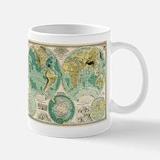 Old World Map Mugs