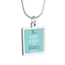 Keep Calm and Dance On Necklaces