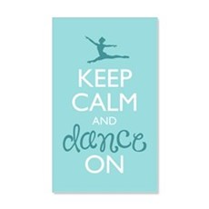 Keep Calm and Dance On Wall Decal