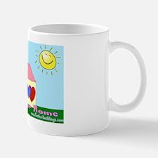 Open your heart w/sun Mug