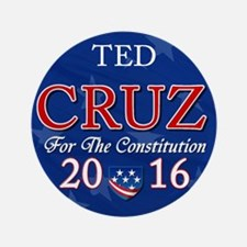 "Ted Cruz 2016 3.5"" Button"