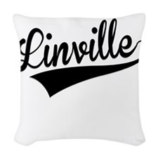 Linville, Retro, Woven Throw Pillow