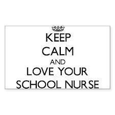 Keep Calm and Love your School Nurse Decal