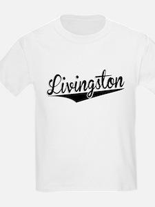 Livingston, Retro, T-Shirt