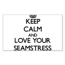 Keep Calm and Love your Seamstress Decal