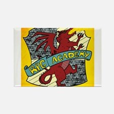The RPG Academy Logo Magnets
