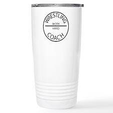 Wrestling Coach Travel Mug