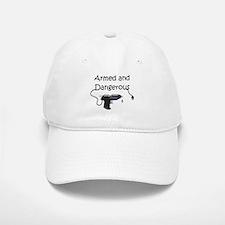 Armed and Dangerous Crafts Baseball Baseball Cap
