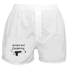 Armed and Dangerous Crafts Boxer Shorts