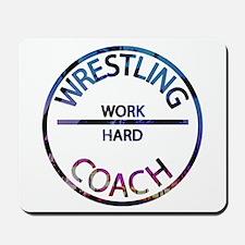 Wrestling Coach Mousepad