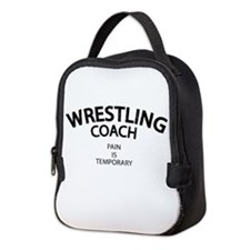 Wrestling Coach Neoprene Lunch Bag