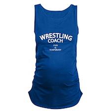 Wrestling Coach Maternity Tank Top