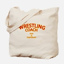 Wrestling Coach Tote Bag