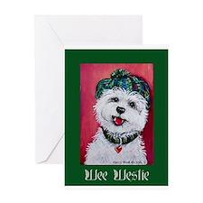 Wee Westie Greeting Cards
