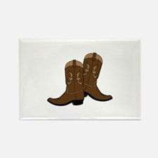 Cowboy Boots Magnets