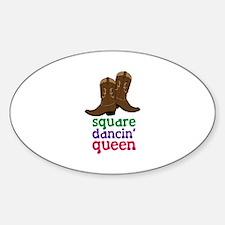 square dancin queen Decal
