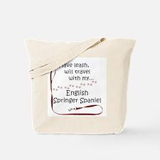 Springer Spaniel Travel Leash Tote Bag