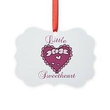Little Sweetheart Ornament