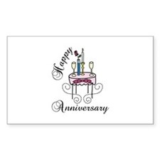 Happy Anniversary Decal