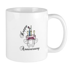Happy Anniversary Mugs