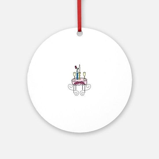Paris Cafe Ornament (Round)