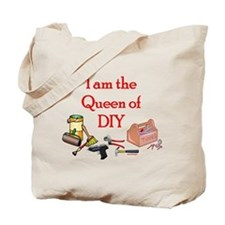 Queen of D.I.Y. Tote Bag