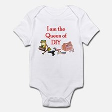 Queen of D.I.Y. Infant Bodysuit