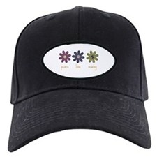 Peace Love Sewing Baseball Hat