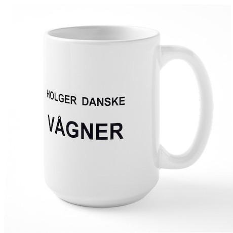 Holger Danske Vågner Large Mug