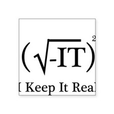 """Cute Science is real Square Sticker 3"""" x 3"""""""