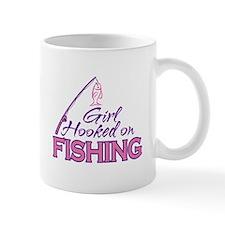 Girl Hooked On Fishing Mug