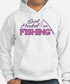 Girl Hooked On Fishing Hoodie
