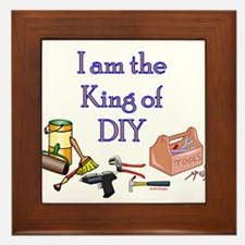 King of D.I.Y. Framed Tile