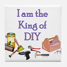 King of D.I.Y. Tile Coaster