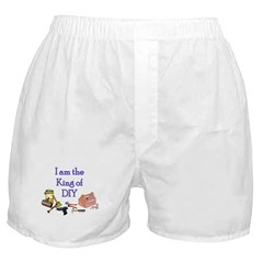 King of D.I.Y. Boxer Shorts