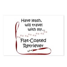Flat-Coat Travel Leash Postcards (Package of 8)