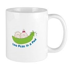 two peas in a pod Mugs