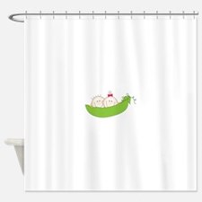 Peas In A Pod Shower Curtain
