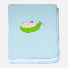 Peas In A Pod baby blanket