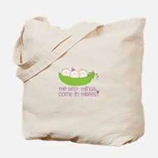 tHe best tHinGs come in tHRess! Tote Bag
