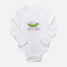 tHe best tHinGs come in tHRess! Body Suit
